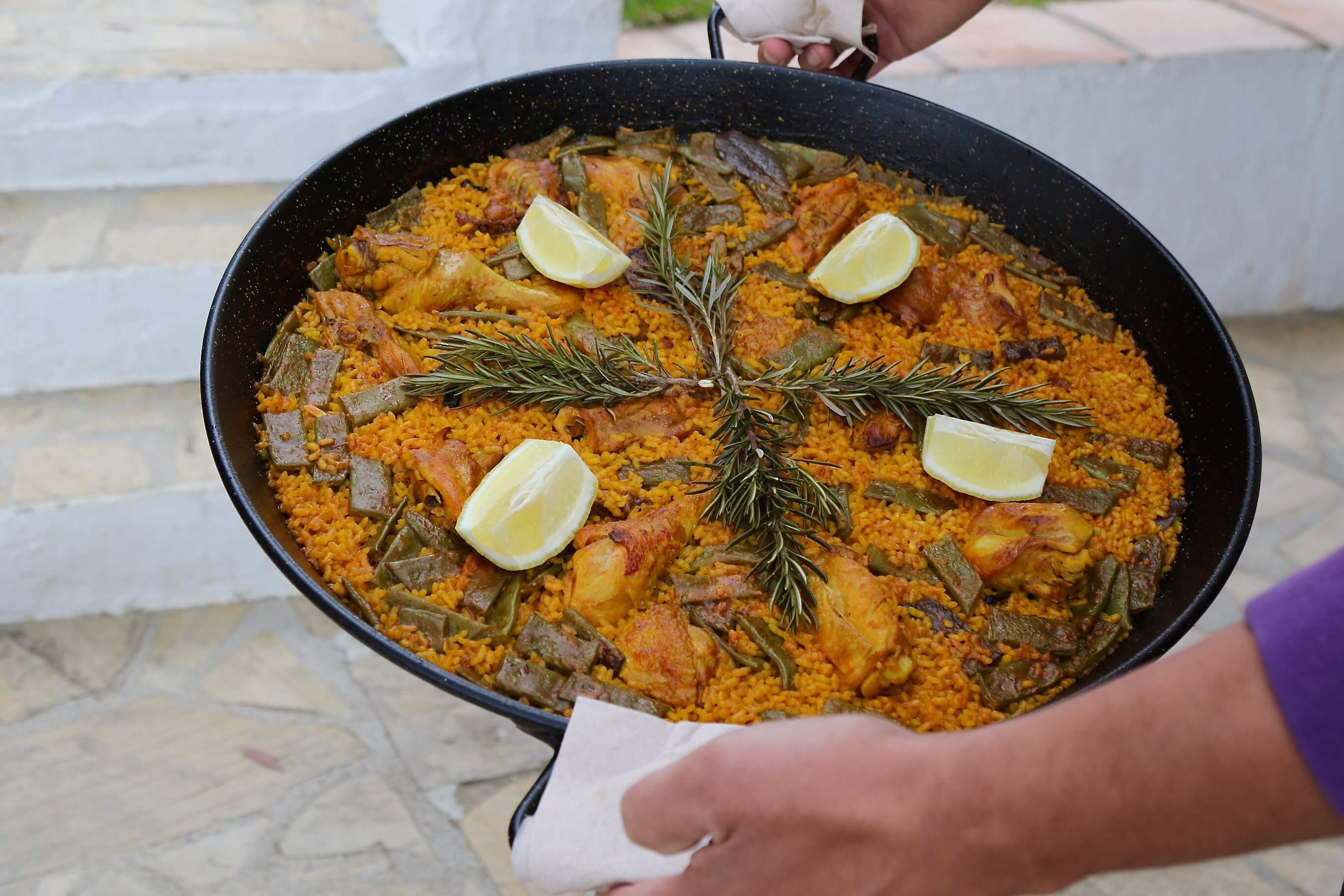 Chef David's Paella - Why Spain Should be Your Next Culinary Destination, Delectable Destinations, Carol Ketelson