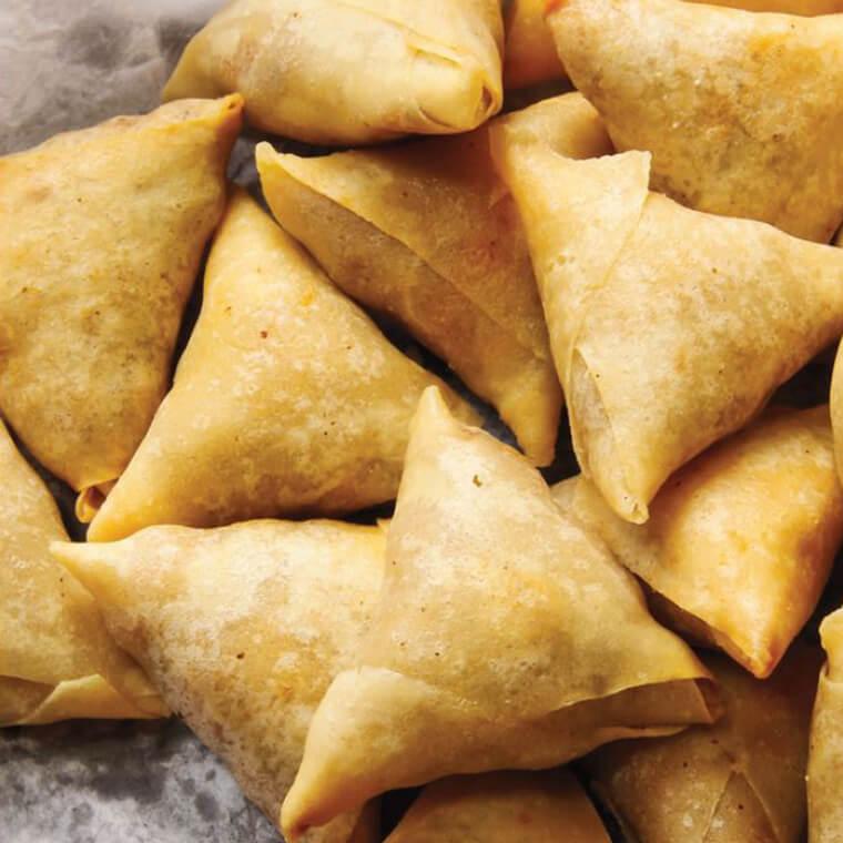 Saffron Palate Diwali Recipe- - SAMOSA FRIED INDIAN SNACK