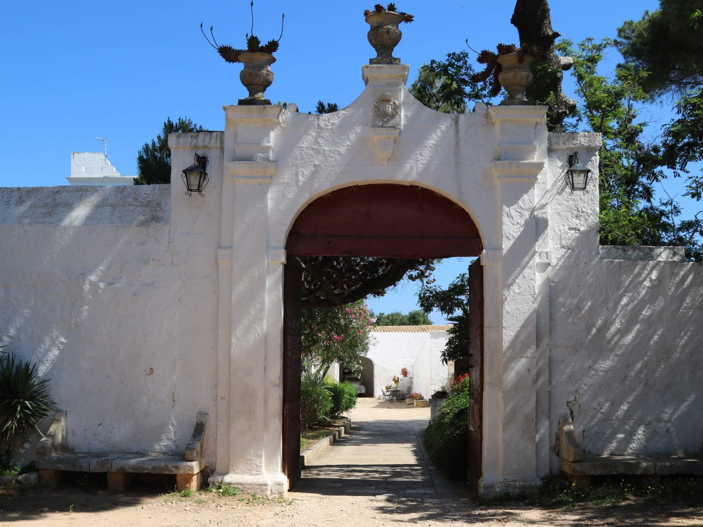 olive grove entrance, trip to magical Puglia Italy