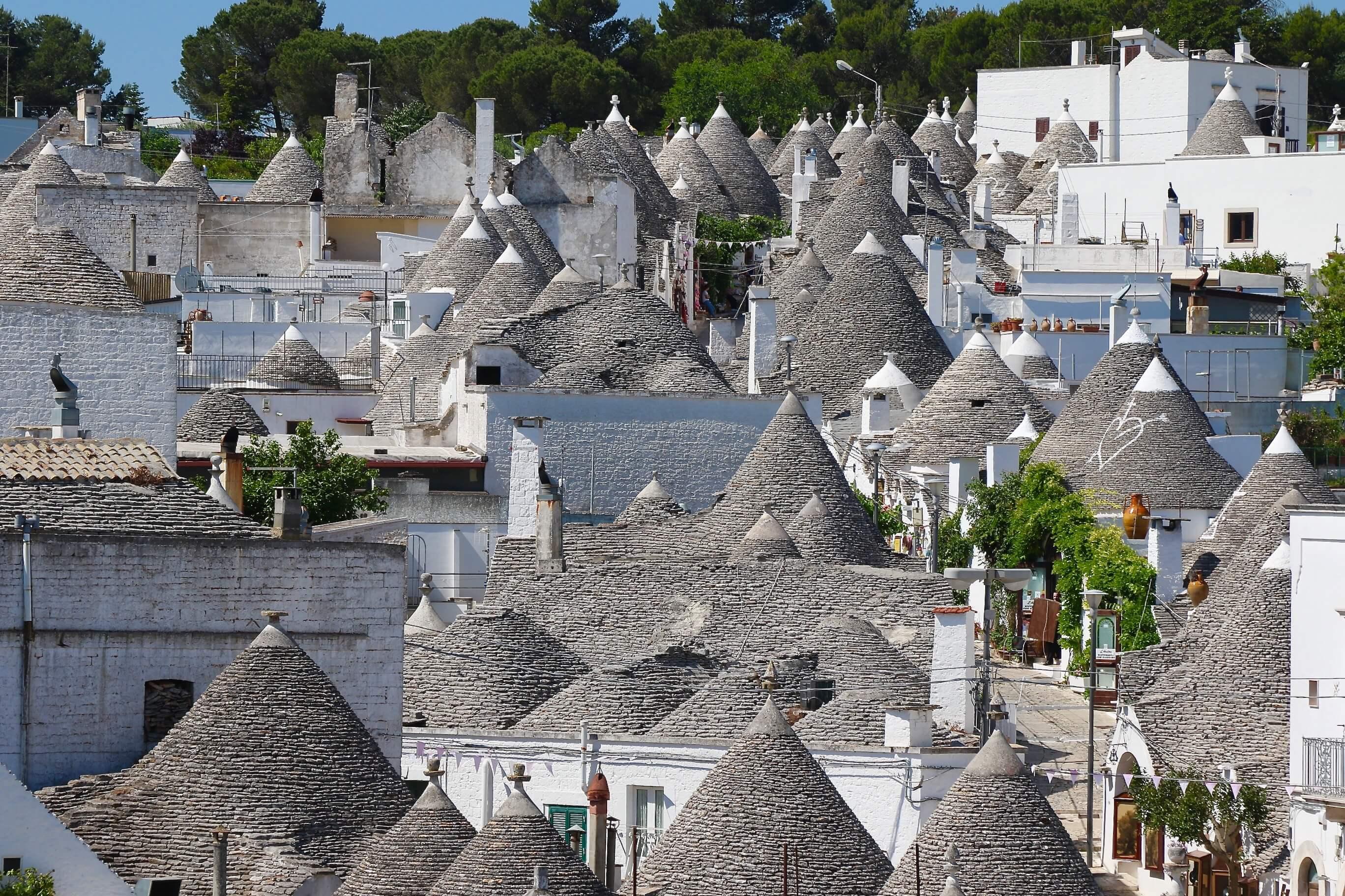 UNESCO town of Alberobello - 1,500 Trulli are located here