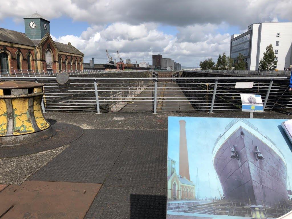 Belfast Titanic dry dock