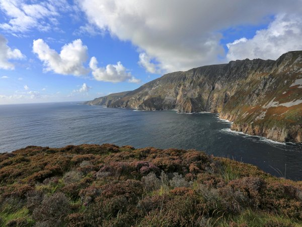Slieve League cliffs Donegal County Ireland