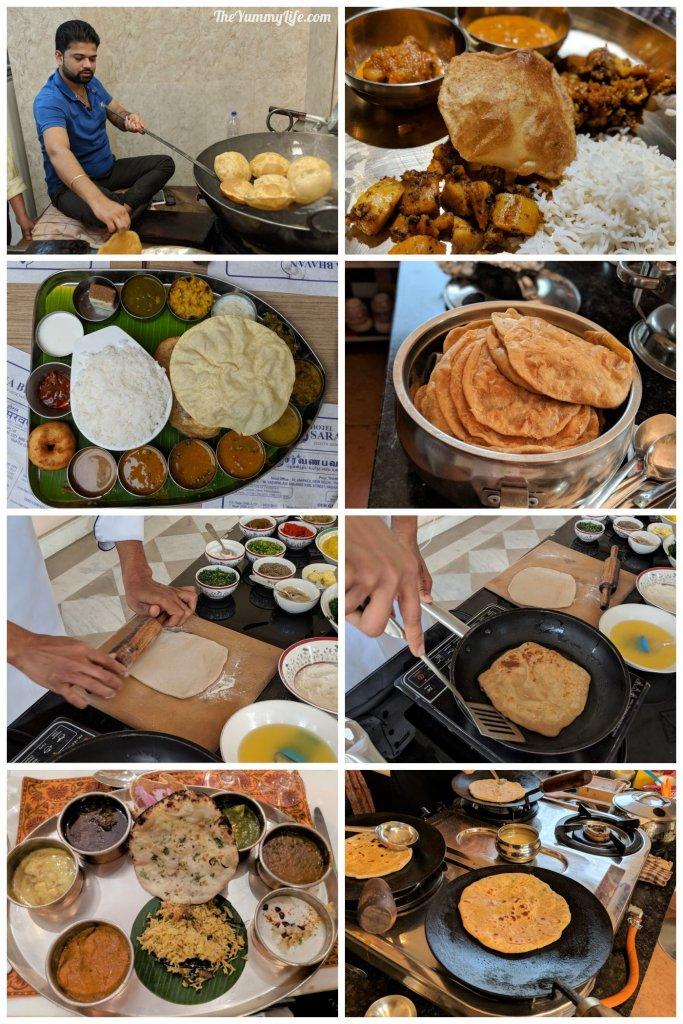 the amazing various flatbreads of india