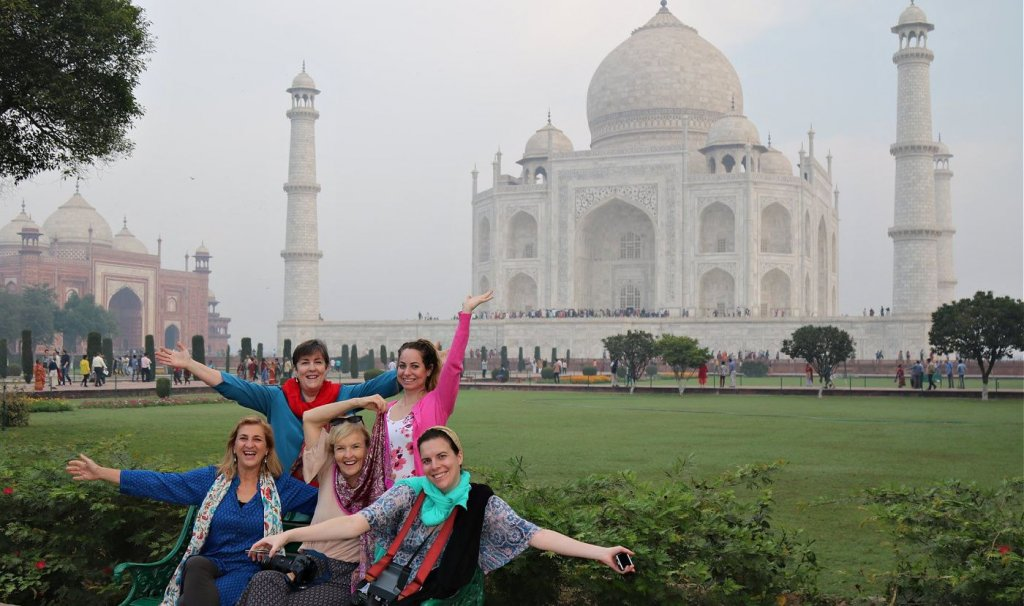 traveling india with an amazing group